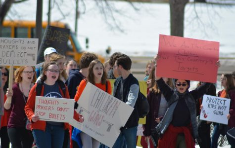 Columbine shooting anniversary inspires student organized walkout