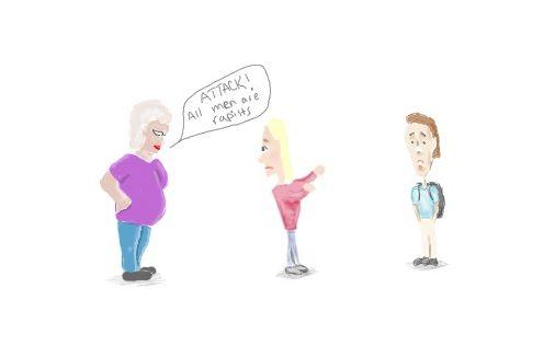 Cartoon: Web Lehmann