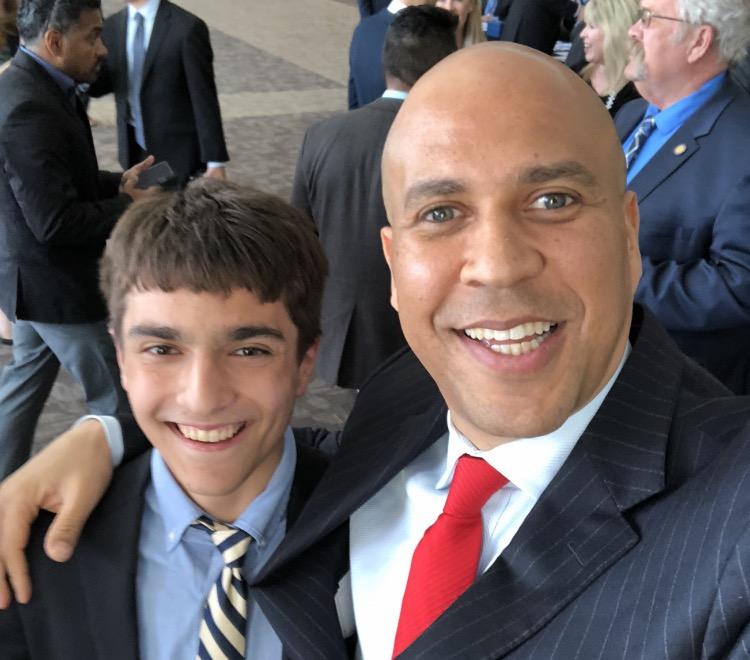 Columnist+Kieran+Singh+recently+watched+New+Jersey+Senator+Cory+Booker+deliver+a+speech.+