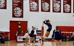 Girls Volleyball defeats Visitation at their homecoming
