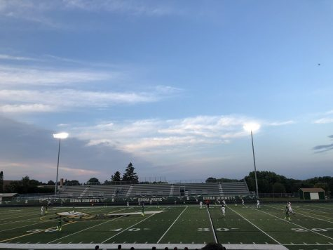 Boys Varsity soccer falls to Edina