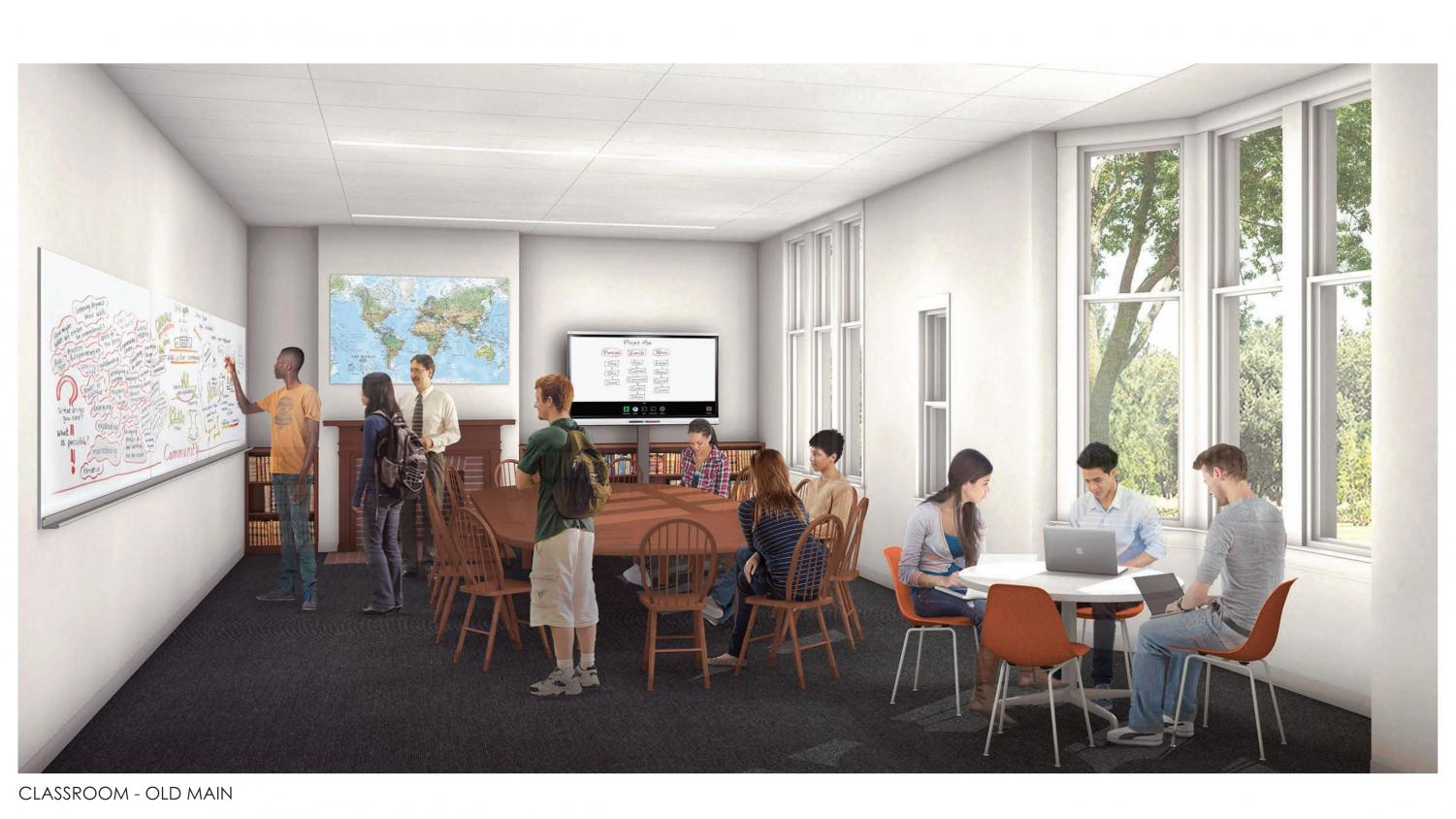 A+rendering+of+what+the+Old+Main+classrooms+may+look+like.
