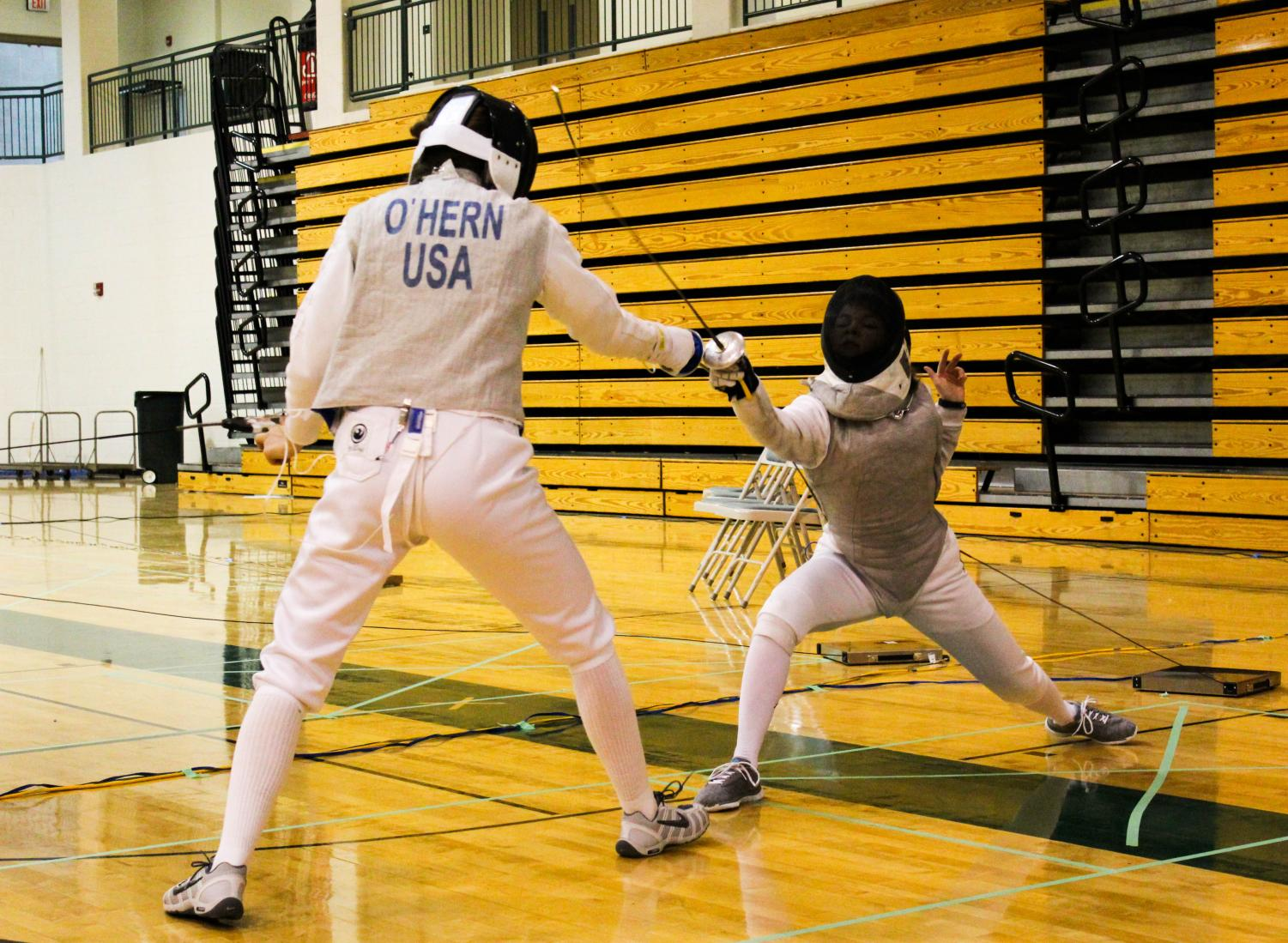 Fencing is a sport that requires lots of equipment, making it expensive.