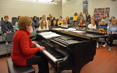 Klus reflects on the growth of the choir