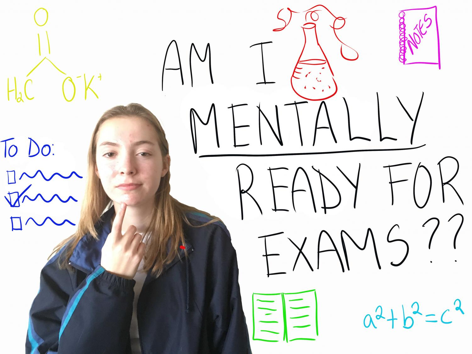 Sophomore Julia Scott realizes that even if she is really academics-wise for her exams, she needs to be mentally prepared as well in order to do her best.