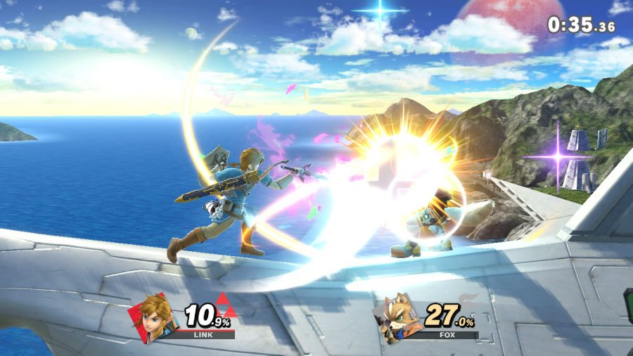 Super+Smash+Bros.+Ulitmate+was+a+very+hyped+game+that+did+not+let+down+the+buyers+expectations.