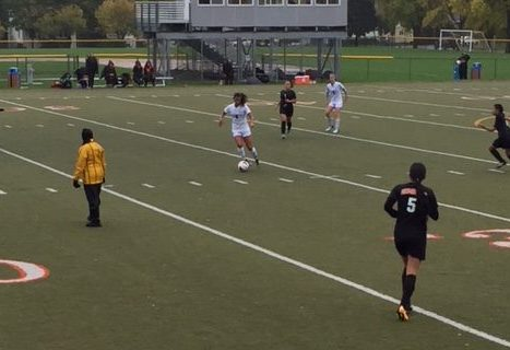 Girls Varsity Soccer played against St. Paul Humboldt High School on Oct. 9.