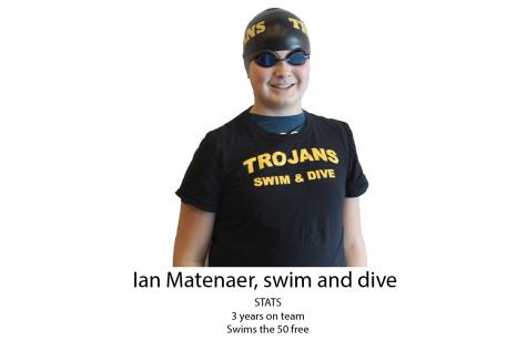 Ian Matenaer: Boys Swim and Dive