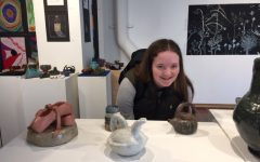 Winter student art gallery displays mid-year work