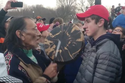 MAGA hats simultaneously represent free speech, charged statements