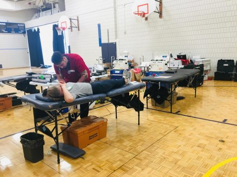 Blood Drive draws teachers, students