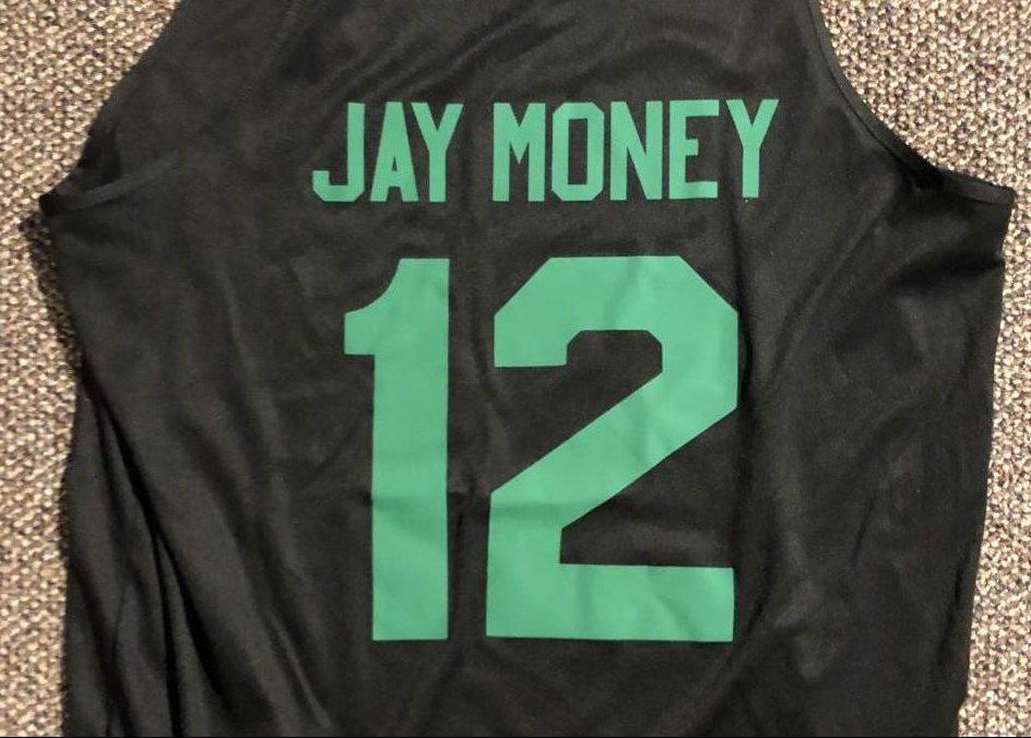 Joe Kase's basketball jersey.
