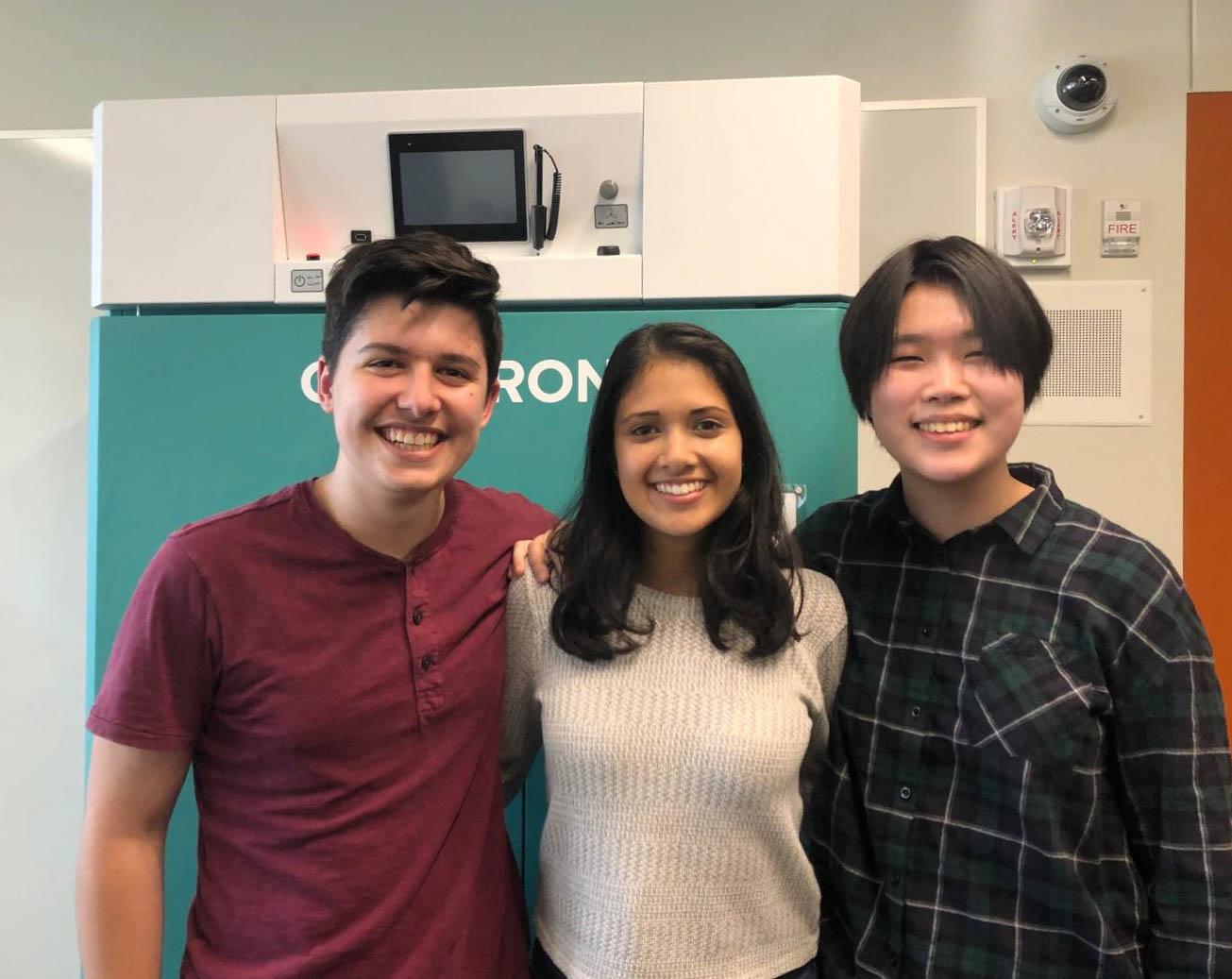Three SPA ASR students (Ethan Dincer, Nitya Thakkar, and Melissa Nie) qualified for ISEF on Mar. 30-31.