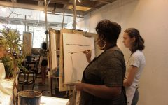 In first year, Duvra adds her own touch into the art curriculum
