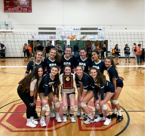 Threepeat: Volleyball wins Dockin Invitational tournament for the third year in a row
