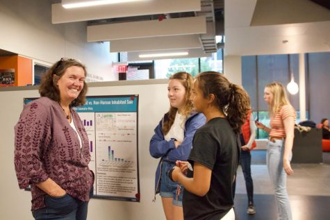 Senior Sarah Romans researches ketogenic diets