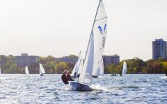 Sailing Team encourages interested students to join, regardless of experience
