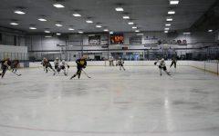Boys hockey team wins home opener against Bloomington Kennedy