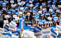 BEHIND THE LENS: Liepins captures Sanders rally