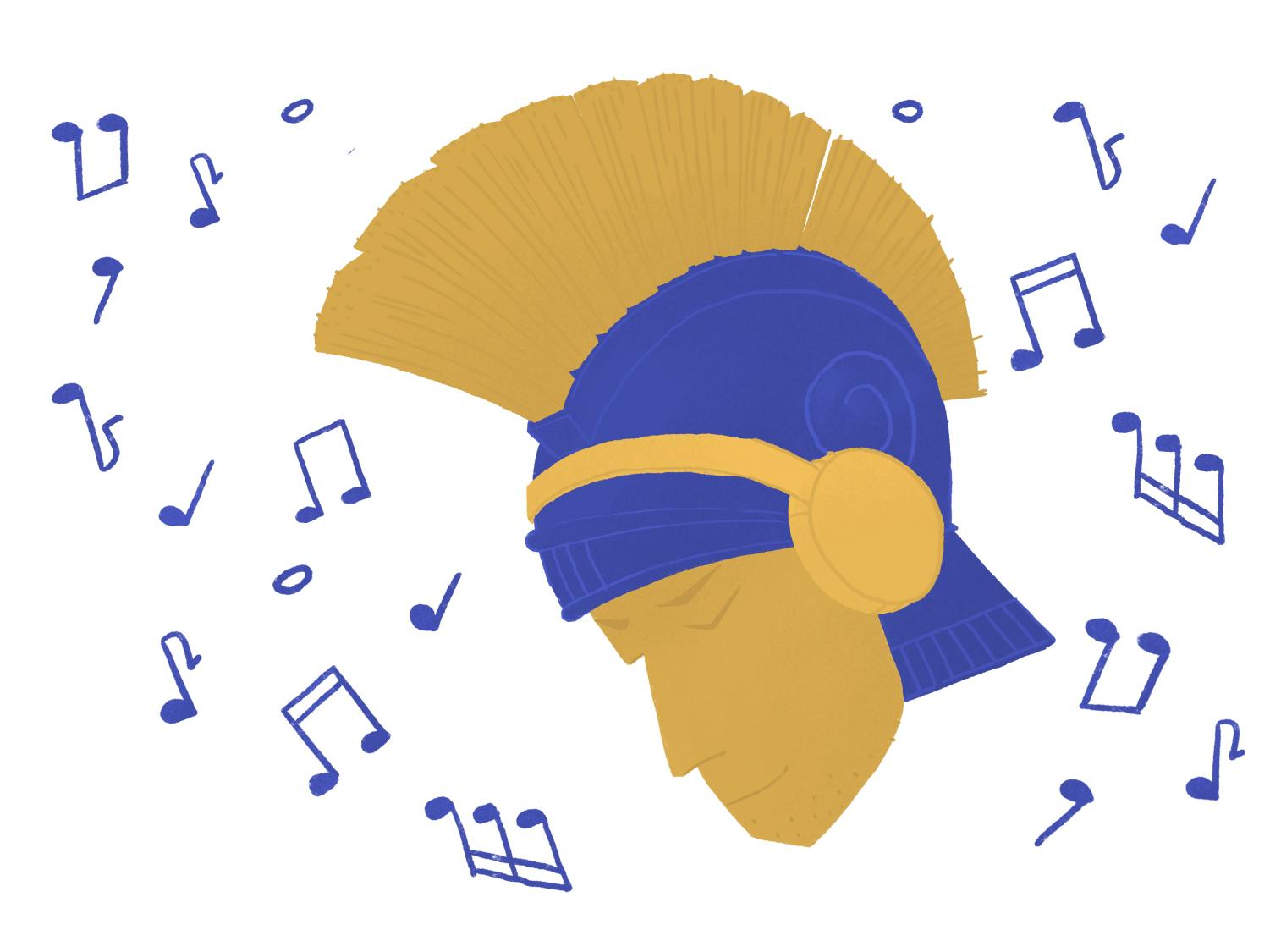 SPARTAN BEAT: Athletes choose music that speaks to them.
