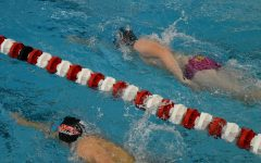 [BEHIND THE SCENES] Boys Swim and Dive swims in season's first competition