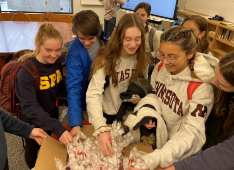 SoCLC's surprise gift to sophomores lifts spirits and boosts motivation