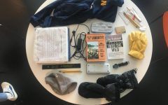 [WHAT'S IN MY BAG] Scholarly and prepared, Pauly is well-equipped for winter