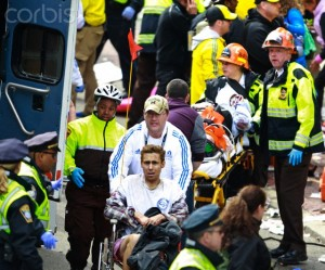 Onlookers shocked by bombing at Boston Marathon