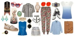 Energizing spring and summer fashion boasts contrast and comfort