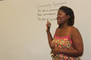 Spoken word poet Joyce Lee hosts workshop