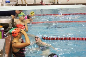 Gallery: Girls Swimming and Diving prepare intensely for meets
