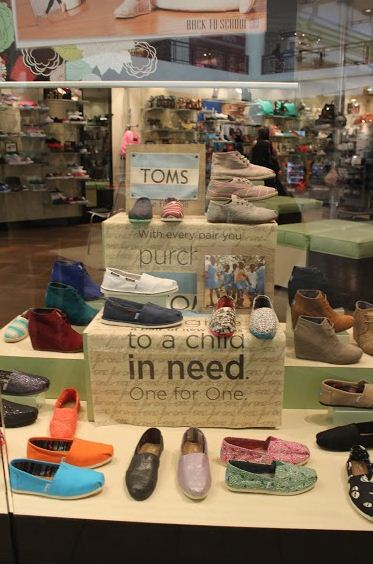 Toms shoes are quick to put on and popular this fall.