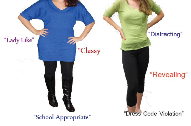 Dress code policy revision impacts girls more – The Rubicon