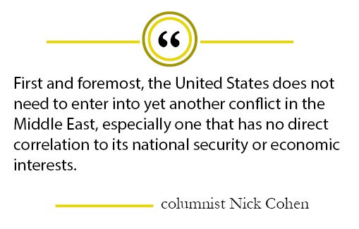 Column: Congress should not approve United States invasion in Syria