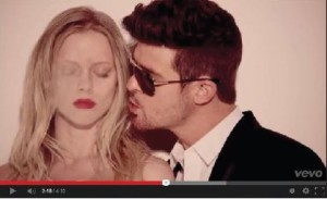 """Despite its chart-topping status, Robin Thicke's Blurred Lines has fallen under great controversy and is being banned from schools internationally. """"If the majority of people aren't getting the negative message out of it they'll wonder why it's being banned, but they need to know what the song is about,"""" freshman Heba Sandozi said."""
