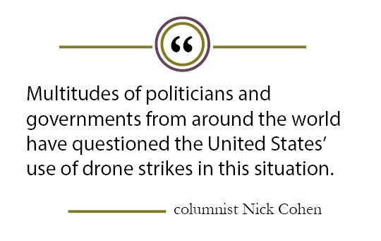 Column: Drone strikes seem like quick solutions, but instead increase tension