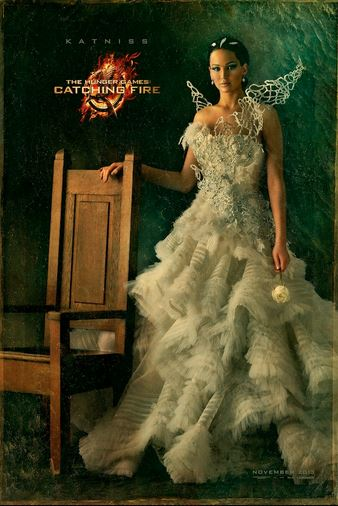 """The Hunger Games: Catching Fire is one of the many films made from books coming out in November. """"If you're going to adapt a movie from a book, you're taking the story and the plot and adding images,"""" senior and Film Club co-president Michael Wilkens said."""