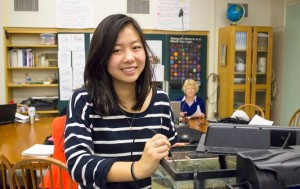 Senior Jessica Wen dives deeper with her studies on zebrafish