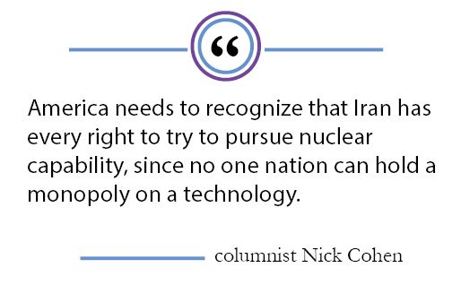Column: American acceptance of Iran's nuclear programs would lead to stronger relations