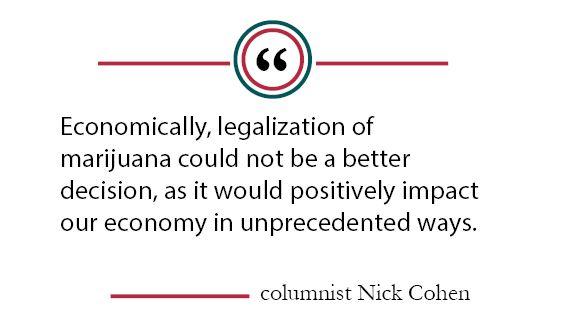 Column: Potential benefits reveal the blunt truth of marijuana legalization