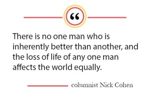 Column: Media should show equal worth among human lives
