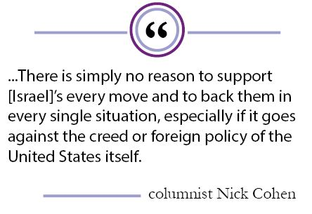 Column: United States's categorical support for Israel should adjust with changing times