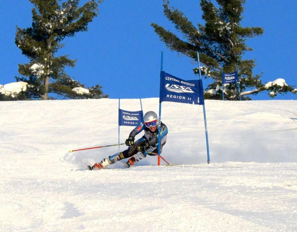 """Sophomore Peter Baker  began skiing with his family but hopes to take his competitive drive all the way to the U18 National Junior Championships.  """"When you're racing, it's just a feeling that's really been unmatched with anything else... it's a feeling of carelessness,"""" he said. Baker received fourth place out of 126 skiers at the Feb. 5 Section 4 meet, qualifying him for the State meet that will take place Feb. 12 at Giants Ridge."""