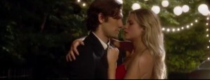 """Endless Love stars Alex Pettyfer [David] and Olivia Wilde [Jade] in a romantic scene from the film.  Pettyfer hopes that viewers will """"Find someone that will treat you with respect, is chivalrous, is a gentleman and just loves you for who you are,"""" he said.  The film premiers on Valentine's Day."""