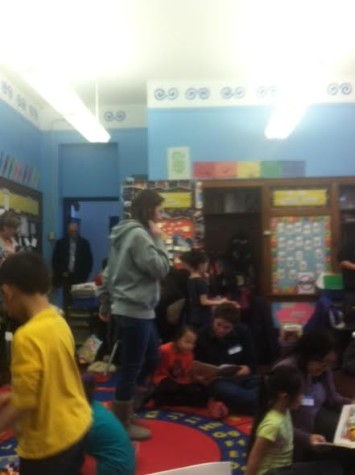 "Students participate in math activities and ""Fred Chi"" at Community School of Excellence"