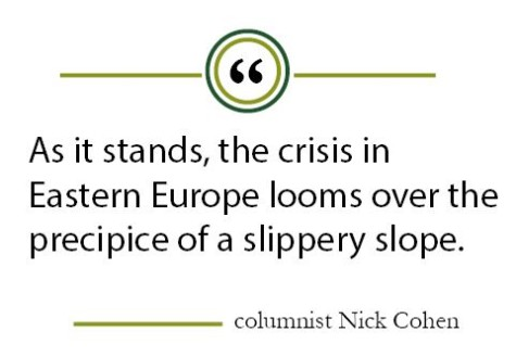 Column: Lessons from Cold War should guide American response to crisis in Ukraine