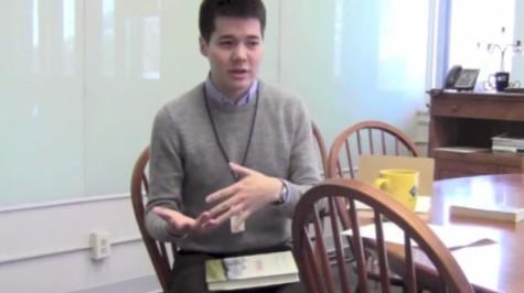 Upper School English teacher Philip de Sa e Silva talks books