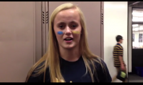 Freshman Ashley Jallen reacts to freshman safari.  To hear Jallen's opinion and those of other students, please watch the RubiconTV video below.