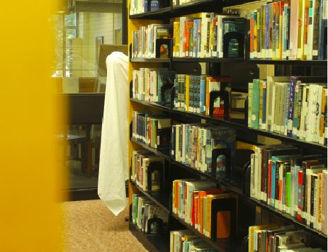 Ghost stories hide in the Upper School library but most students equate movie scares with their childhood or present day nightmares.