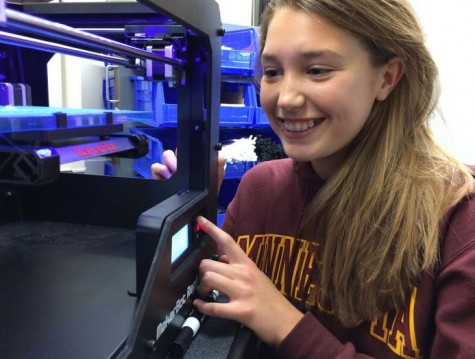 3D printer is an integral part of Designing Change class